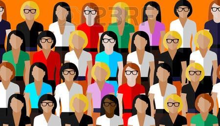 donne colorate